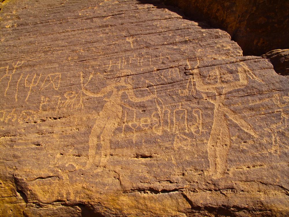 Amazing rock carvings in saudi arabia